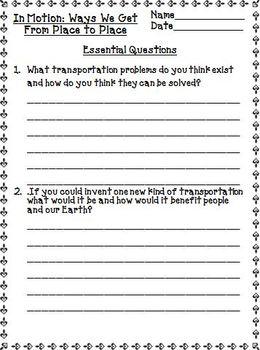 Treasures 3rd Grade Unit 5 Supplemental Resources