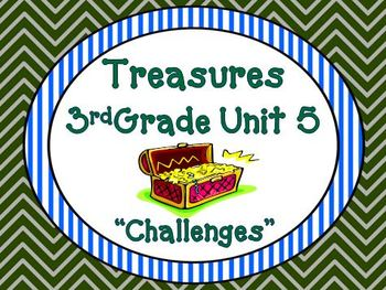 Treasures 3rd Grade Unit 5 Bundle