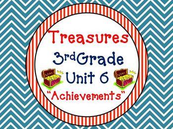 Treasures 3rd Grade Unit 6 Bundle