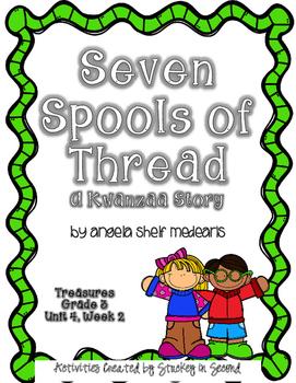 Treasures 3rd Grade - Seven Spools of Thread - Unit 4, Week 2