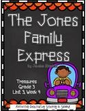 Treasures 3rd Grade - The Jones Family Express - Unit 3, Week 4