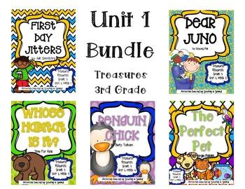 Treasures 3rd Grade - Unit 1 Bundle (All 5 Weeks Included!)