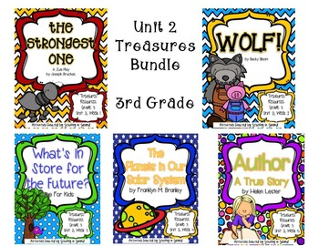 Treasures 3rd Grade - Unit 2 Bundle (All 5 Weeks Included!)