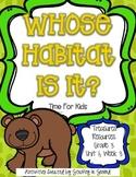 Treasures 3rd Grade - Whose Habitat Is It? - Unit 1, Week 3