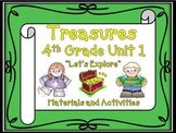 Treasures Reading 4th Grade Unit 1 Printables