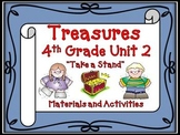 Treasures  Reading 4th Grade Unit 2 Printables