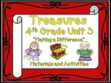 Treasures 4th Grade Unit 3 Supplemental Materials Bundle