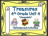 Treasures 4th Grade Unit 4 Supplemental Materials Bundle