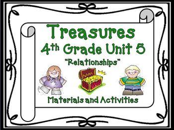 Treasures 4th Grade Unit 5 Supplemental Materials Bundle