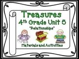 Treasures Reading 4th Grade Unit 5 Printables