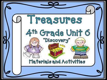 Treasures 4th Grade Unit 6 Supplemental Resources