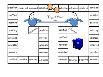 Treasures 4th Grade Unit 5 Vocabulary Games for SmartBoard