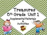 Treasures 5th Grade Unit 1 Supplemental Resources Bundle