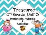 Treasures 5th Grade Unit 3 Supplemental Resources Bundle