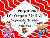 Treasures 5th Grade Unit 4 Supplemental Materials Bundle