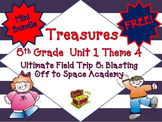 "Treasures 5th Grade Unit 1 ""Ultimate Field Trip 5"" Supplemental Resources Bundle"