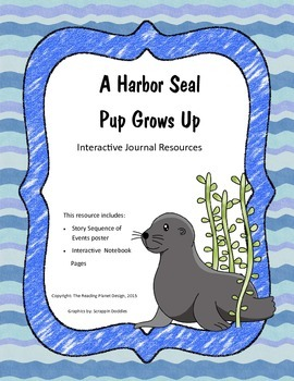 Treasures - A  Harbor Seal Pup Grows Up (Interactive Journ