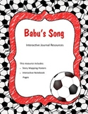 Treasures - Babu's Song (Interactive Journal and Posters)