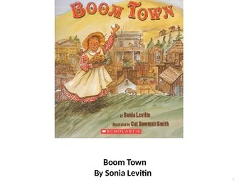 Treasures Boom Town vocabulary PowerPoint