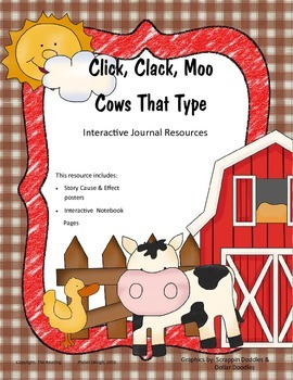 Treasures - Click, Clack, Moo Cows That Type (Interactive