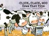 """Treasures- """"Click, Clack,Moo"""""""