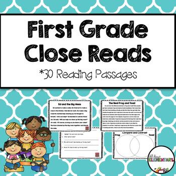 First Grade Close Reads