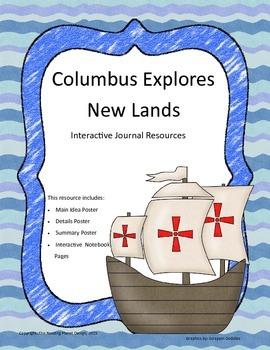 Treasures - Columbus Explores New Lands (Interactive Journ
