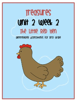 Treasures Common Core Assessment: The Little Red Hen