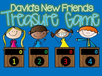 Treasures David's New Friends GAME SHOW - interactive powerpoint