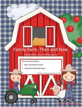 Treasures - Family Farm, Then & Now (Interactive Journal a
