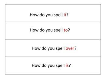 Treasures - Fan and Pick -Spelling week2