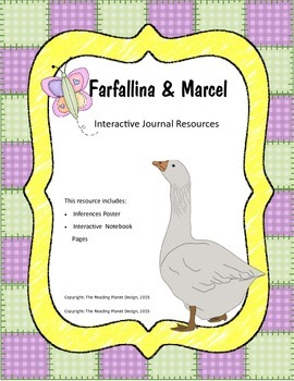 Treasures - Farfallina and Marcel (Interactive Journal and Posters)