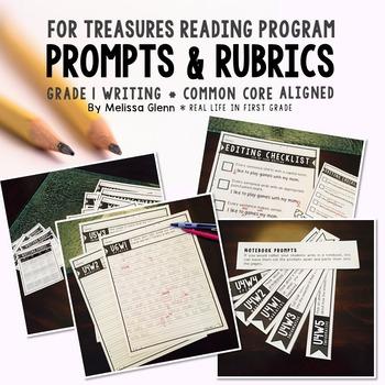 Treasures First Grade Common Core Prompts & Rubrics