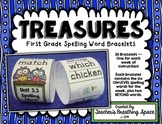 Treasures 1st Grade --- Treasures Spelling Word Bracelets