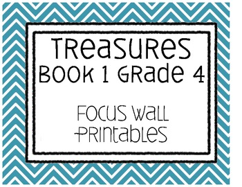 Treasures Focus Wall
