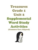 Treasures Grade 1 Unit 2 Word Study Activities Common Core
