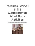 Treasures Grade 1 Unit 3 Supplemental Word Study Activitie