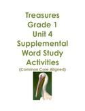 Treasures Grade 1 Unit 4 Supplemental Word Study Activitie