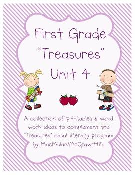 Treasures Grade 1 Unit 4 Supplementary Printables