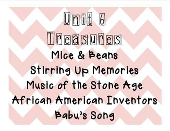 Treasures-Grade 2- ENTIRE YEAR- 30 weeks-All 6 Units Bundled (2007 Edition)