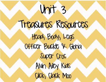 Treasures-Grade 2- ENTIRE YEAR- 30 weeks-All 6 Units Bundled (2007 Edition)