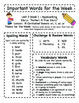Treasures - Grade 3 - Unit 3 Spelling Word Lists