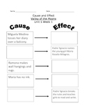 Valley of the Moon Cause and Effect Worksheet