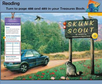 Skunk Scout Treasures Smart Notebook