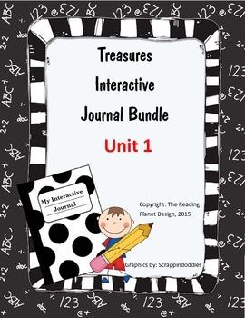 Treasures Interactive Journal Unit 1 Bundle (NOT TEXAS)
