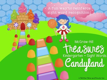 Treasures Kindergarten Sight Word Candyland