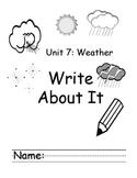 Treasures Kindergarten Write About it Journals Units 6 - 10