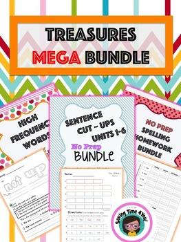 Treasures First Grade MEGA BUNDLE!!