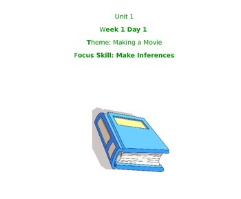 Treasures McGraw Hill Unit 1 Week 1