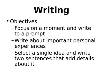Treasures McGraw Hill Unit 1 Week 1 Objectives